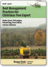 Best Management Practices for Christmas Tree Export